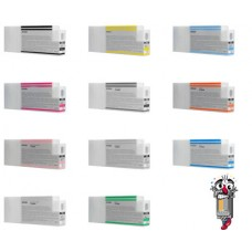 10 PACK Epson T636 (T636A) 7000 ml Ink Cartridge Remanufactured