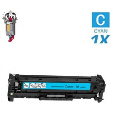 Canon 118 Cyan Laser Toner Cartridge Remanufactured
