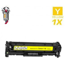 Canon 118 Yellow Laser Toner Cartridge Remanufactured