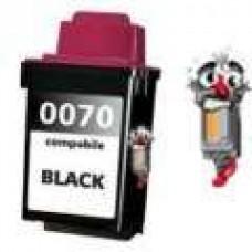 Lexmark #70 12A1970 Black Inkjet Cartridge Remanufactured