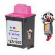 Lexmark #80 12A1980 Color Inkjet Cartridge Remanufactured