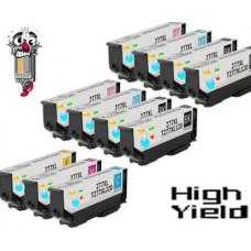 12 Piece Bulk Set Epson T277XL High Yield combo Ink Cartridges Remanufactured