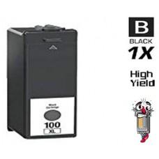 Lexmark #100XL 14N1068 High Yield Black Inkjet Cartridge Premium Compatible