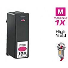 Lexmark #100XL 14N1070 High Yield Magenta Inkjet Cartridge Premium Compatible