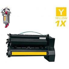 Lexmark 15G032Y High Yield Yellow Laser Toner Cartridge Premium Compatible