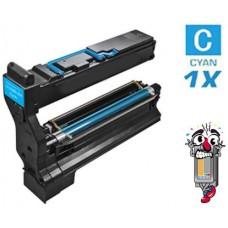Konica Minolta 1710580-004 Cyan Laser Toner Cartridge Premium Compatible