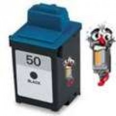Lexmark #50 17G0050 Black Inkjet Cartridge Remanufactured