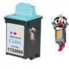 Lexmark #60 17G0060 Color Inkjet Cartridge Remanufactured