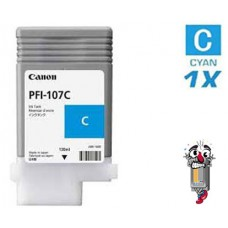 Genuine Original Canon PFI-120C Cyan 130mL Ink 2886C001