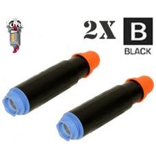2 Piece Bulk Set Canon GPR17 combo Laser Toner Cartridges Premium Compatible