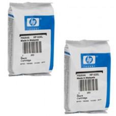 Genuine Original Hewlett Packard HP62 Inkjet Cartridges - 1 Black 1 Color in Retail Packaging
