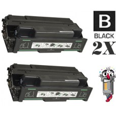 2 Piece Bulk Set Ricoh 400759 combo Laser Toner Cartridge Premium Compatible