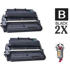2 Piece Bulk Set Samsung ML-D4550B High Yield Black combo Laser Toner Cartridge Premium Compatible