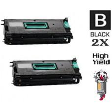 2 PACK Lexmark 12B0090 High Yield Toner Cartridges Premium Compatible