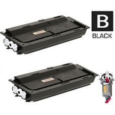 2 PACK Kyocera Mita TK477 combo Laser Toner Cartridge Premium Compatible