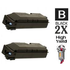 2 PACK Kyocera Mita TK6307 combo Laser Toner Cartridge Premium Compatible