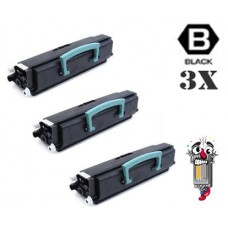 3 Piece Bulk Set Dell K3756 combo Laser Toner Cartridges Premium Compatible