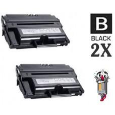 2 Piece Bulk Set Dell NX994 (330-2209) High Yield Black combo Laser Toner Cartridge Premium Compatible