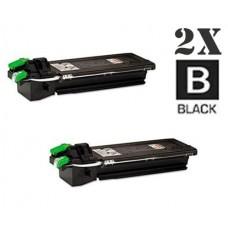2 Piece Bulk Set Sharp AR-310NT Black combo Laser Toner Cartridge Premium Compatible