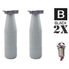 2 Piece Bulk Set Canon GPR4 Black combo Laser Toner Cartridge Premium Compatible