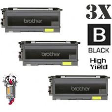 3 Piece Bulk Set Brother TN350 High Yield combo Laser Toner Cartridges Premium Compatible