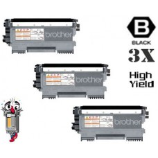 3 PACK Brother TN450 High Yield combo Laser Toner Cartridges Premium Compatible