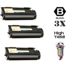 3 PACK Brother TN460 High Yield combo Laser Toner Cartridges Premium Compatible