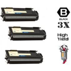 3 Piece Bulk Set Brother TN460 High Yield combo Laser Toner Cartridges Premium Compatible