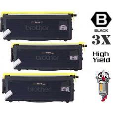 3 Piece Bulk Set Brother TN570 High Yield combo Laser Toner Cartridges Premium Compatible