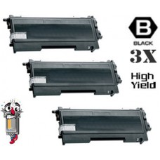 3 Piece Bulk Set Brother TN670 High Yield combo Laser Toner Cartridges Premium Compatible
