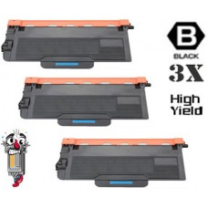 3 Piece Bulk Set Brother TN850 High Yield combo Laser Toner Cartridges Premium Compatible