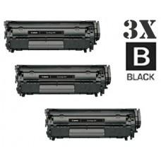 3 PACK Canon 104 FX9 FX10 combo Laser Toner Cartridges Premium Compatible
