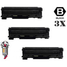 3 Piece Bulk Set Canon 128 combo Laser Toner Cartridges Premium Compatible