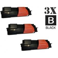 3 PACK Kyocera Mita TK122 combo Laser Toner Cartridge Premium Compatible