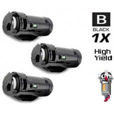 3 Piece Bulk Set Dell 47GMH High Yield combo Laser Toner Cartridges Premium Compatible