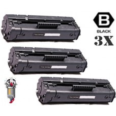 3 Piece Bulk Set Hewlett Packard C3906A HP06A combo Laser Toner Cartridges Premium Compatible