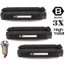 3 Piece Bulk Set Hewlett Packard Q2613X HP13X High Yield combo Laser Toner Cartridges Premium Compatible