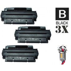 3 Piece Bulk Set Hewlett Packard C4127A HP27A combo Laser Toner Cartridges Premium Compatible