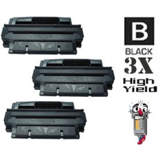 3 Piece Bulk Set Hewlett Packard C4127X HP27X High Yield combo Laser Toner Cartridges Premium Compatible