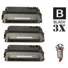 3 Piece Bulk Set Hewlett Packard Q1338A HP38A combo Laser Toner Cartridges Premium Compatible