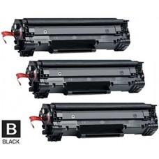 3 Piece Bulk Set Hewlett Packard CE278A HP78A combo Laser Toner Cartridges Premium Compatible