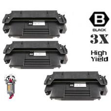 3 Piece Bulk Set Hewlett Packard C4096X HP96X High Yield combo Laser Toner Cartridges Premium Compatible
