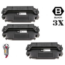 3 Piece Bulk Set Hewlett Packard 92298A HP98A combo Laser Toner Cartridges Premium Compatible