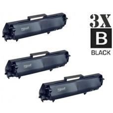 3 Piece Bulk Set Genuine Original Konica Minolta 1710171-001 combo Laser Toner Cartridges