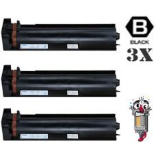 3 Piece Bulk Set Konica Minolta TN712 combo Laser Toner Cartridges Premium Compatible