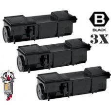 3 PACK Kyocera Mita TK172 combo Laser Toner Cartridge Premium Compatible