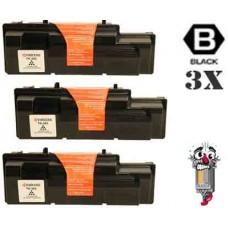 3 PACK Kyocera Mita TK362 Black combo Laser Toner Cartridge Premium Compatible
