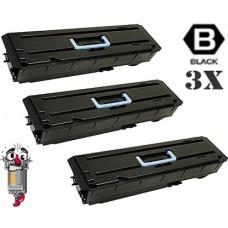 3 PACK Kyocera Mita TK657 1T02FB0US0 combo Laser Toner Cartridge Premium Compatible
