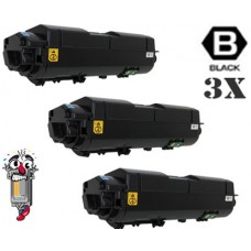 3 PACK Kyocera Mita TK1172 (1T02S50US0) Black Toner Cartridge Premium Compatible