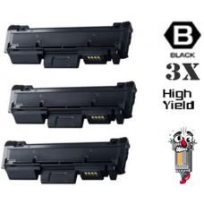 3 Piece Bulk Set Samsung MLT-D118L combo Laser Toner Cartridge Premium Compatible